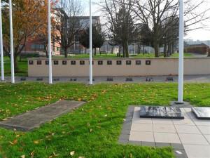 garden stone memorial